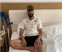 بعد جراحة ناجحة في ألمانيا.. جنش يعود إلى القاهرة