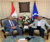 ننشر نص برقية سفير الجزائر لمحافظ السويس