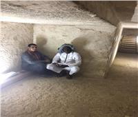 أمم إفريقيا 2019| رئيس بعثة بنين يزور أهرامات الجيزة