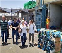 وزيرة البيئة تواصل جولاتها بمصانع تدوير المخلفات بالغردقة