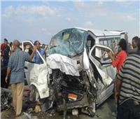 بالأسماء  مصرع وإصابة 11 شخصا في حادث بطريق «المنصورة - جمصة»