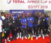 أمم أفريقيا 2019 |«بنين» يغادر مطار القاهرة بعد وداع الكان