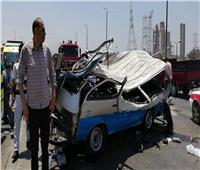 مصرع 3 وإصابة 23 شخصًا في حادثين مروعين بالدقهلية