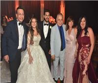 صور| رقصات الفنانين مع دياب وبوسي بحفل زفاف «علي وحبيبة»