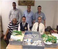 إحباط محاولة تهريب كمية من الأدوية بمطار برج العرب