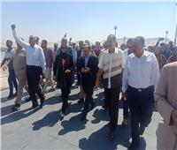 محافظ أسيوط يستقبل وزير التنمية المحلية استعدادًا لافتتاح مشروعاتجديدة