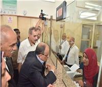 وزير التنمية المحلية ومحافظ أسيوط يفتتحان المركز التكنولوجي بديروط