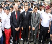 زعماء أوروبيون ينضمون إلى ماكرون في احتفالات يوم الباستيل
