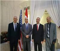 رئيس مصلحة الجمارك يعود من أمريكا عقب حضور اجتماعات بواشنطن