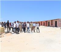 محافظ مطروح: الانتهاء من تطوير شاطئ الغرام نهاية يوليو الحالي