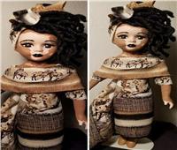 دمية مصابة بـ «البهاق».. فنانة تحارب «التنمر» بالفن