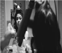 فيديو| شيرين عبدالوهاب تنشر كواليس تصوير «نساي»