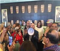 الهجرة تنظم لممثلي الكيانات المصرية بالخارج زيارة لمدينة الجلالة