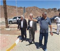 محافظ جنوب سيناء يتفقد المشروعات الجاري تنفيذها بشرم الشيخ