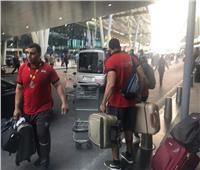 مطار القاهرة يستقبل بعثتي ناشئي السلة ومصارعة الذراعين