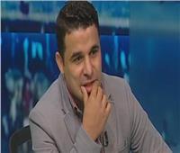 خالد الغندور يؤازر لاعبي الزمالك في مران الفريق