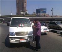 التحفظ على ٤٣ سيارة سرفيس لمخالفتها التعريفة الجديدة بالقاهرة