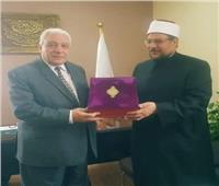 وزير الأوقاف يزور رابطة الجامعات الإسلامية