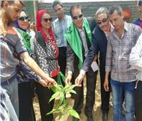 محافظ أسيوط: انطلاق حملة تشجير ونظافة قرية «شقلقيل»