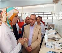 رئيس جامعة مطروح يفتتح المستشفى التعليمي بكلية الطب البيطري
