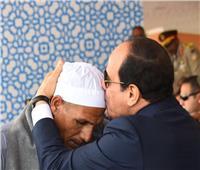 والد الشهيد أحمد عبد العظيم يكشف كواليس حواره مع الرئيس السيسي