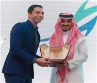تكريم أحمد الأحمر في حفل تدشين كأس العالم للأندية بالسعودية