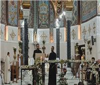 بازيليك القديسة تريزا تحتفل بالقداس الإلهي لعيد «سيدة الكرمل»