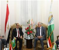 أحمدراشد يستقبل محافظ بغداد لبحث سبل التعاون بين البلدين