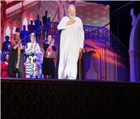 في أول ليالي «الملك لير» بجدة .. الفخراني: رد فعل الجمهور يعطيني أملًا كبيرًا