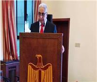 سفير مصر بالصين: نسعى للنهوض بالبلاد حتى تتبوأ مكانه بين القوى الاقتصادية