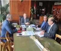 وزير الري يعقد اجتماعا لمناقشة الأعمال الخاصة بالصرف الصحي