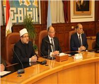 محافظ القاهرة: الدين الإسلامي دين معتدل وسطي ويحارب التطرف