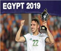 الجزائري «بن ناصر» أفضل لاعب في أمم إفريقيا 2019