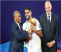 مانشستر سيتي يهنئ رياض محرز عقب تتويج الجزائر بأمم إفريقيا 2019