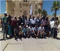 «الآثار»: جولة لمتدربي البرنامج الرئاسي لتأهيل الشباب الإفريقي بقلعة قايتباي
