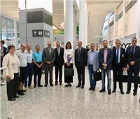 وزيرة الهجرة تصل كندا للاحتفال بشهر الحضارة المصرية