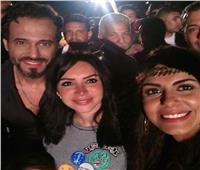 «تعاون ثاني» لهاجر الشرنوبي مع إنجي علاء بعد «كفر دلهاب»