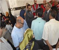 مساعد وزير الصحة يزور معهد جنوب مصر للأورام ومركز الكبد