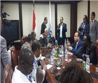 مكرم لرؤساء التحرير الأفارقة: دربنا 4 ألاف صحفي من 55 دولة
