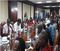 مكرم: سنطالب الرئيس السيسي بإنشاء قناة تليفزيونية إفريقية باسم القارة