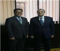 وزير الكهرباء يستقبل وفدًا من الصين لبحث سبل التعاون