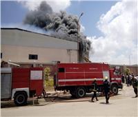 بالصور| اندلاع حريق بمصنع ملابس في الإسكندرية