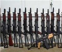 ضبط 260 قطعة سلاح و3 تشكيلات عصابية على مستوى الجمهورية