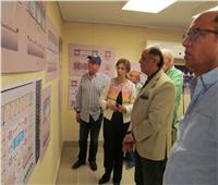 مشروع لتطوير منطقة الأهرامات والمتحف الكبير بالخط الهيروغليفى