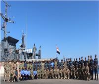 انطلاق فعاليات التدريب البحري المصري الأمريكي المشترك