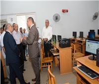 جامعة أسيوط تشارك في الامتحان الموحد التجريبي لمزاولة المهنة لقطاع الصيدلة