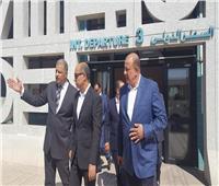 وزير الطيران المدني يتفقد مطار الأقصر الدولي