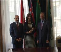 رئيس برلمان أونتاريو الكندي يستقبل وزيرة الهجرة