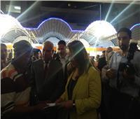 وزيرة التضامن ومحافظ مطروح يتفقدان معرض «ديارنا»