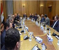 العصار يستقبل وفد الإتحاد العربي للصناعات الهندسية لبحث التعاون المشترك